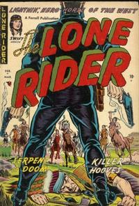 Cover Thumbnail for The Lone Rider (Farrell, 1951 series) #12