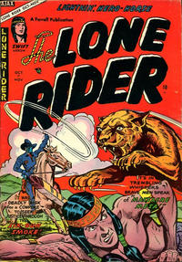 Cover Thumbnail for The Lone Rider (Farrell, 1951 series) #22