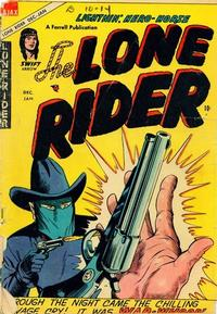 Cover Thumbnail for The Lone Rider (Farrell, 1951 series) #23