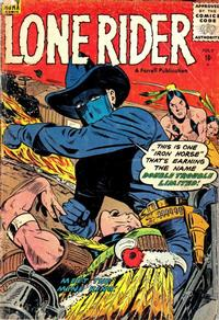 Cover Thumbnail for The Lone Rider (Farrell, 1951 series) #26