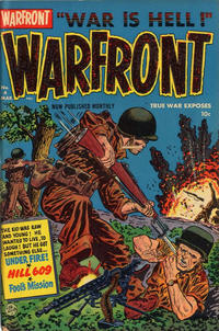 Cover Thumbnail for Warfront (Harvey, 1951 series) #4