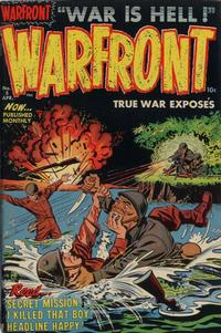 Cover Thumbnail for Warfront (Harvey, 1951 series) #5