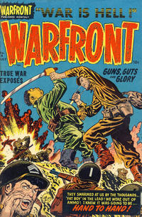 Cover Thumbnail for Warfront (Harvey, 1951 series) #8