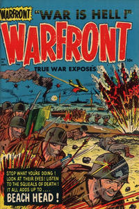 Cover Thumbnail for Warfront (Harvey, 1951 series) #10