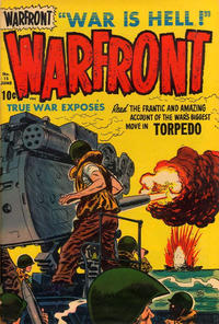 Cover Thumbnail for Warfront (Harvey, 1951 series) #15