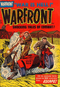 Cover Thumbnail for Warfront (Harvey, 1951 series) #20