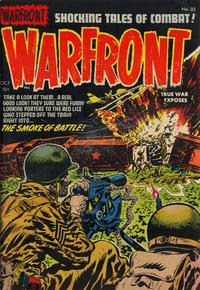 Cover Thumbnail for Warfront (Harvey, 1951 series) #23
