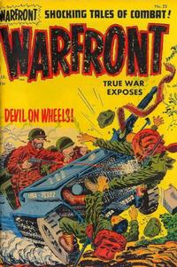 Cover Thumbnail for Warfront (Harvey, 1951 series) #25