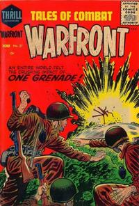 Cover Thumbnail for Warfront (Harvey, 1951 series) #27