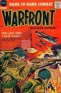 Cover Thumbnail for Warfront (Harvey, 1951 series) #30