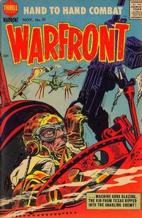 Cover Thumbnail for Warfront (Harvey, 1951 series) #31