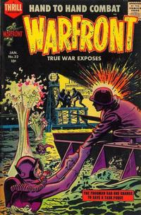 Cover Thumbnail for Warfront (Harvey, 1951 series) #32