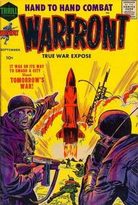 Cover Thumbnail for Warfront (Harvey, 1951 series) #34