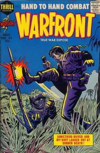 Cover Thumbnail for Warfront (Harvey, 1951 series) #35