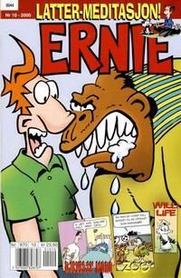 Cover Thumbnail for Ernie (Bladkompaniet / Schibsted, 1996 series) #10/2000