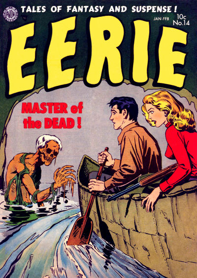 Cover for Eerie (Avon, 1951 series) #14
