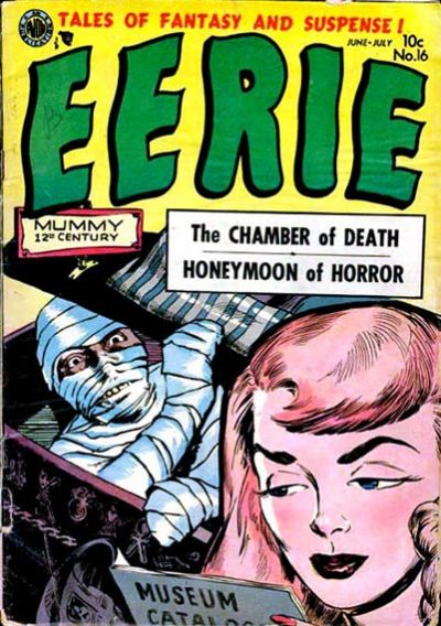 Cover for Eerie (Avon, 1951 series) #16