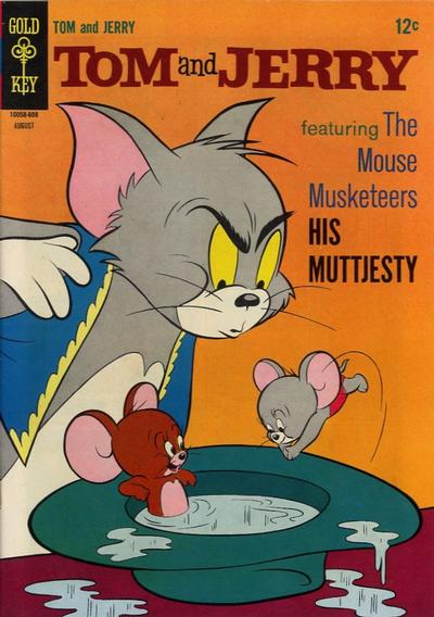 Cover for Tom and Jerry (Western, 1962 series) #231