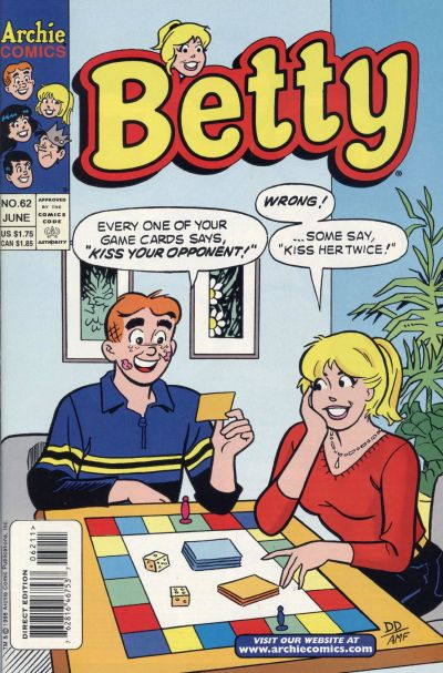 Cover for Betty (Archie, 1992 series) #62