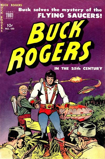 Cover for Buck Rogers (Toby, 1951 series) #100 [7]