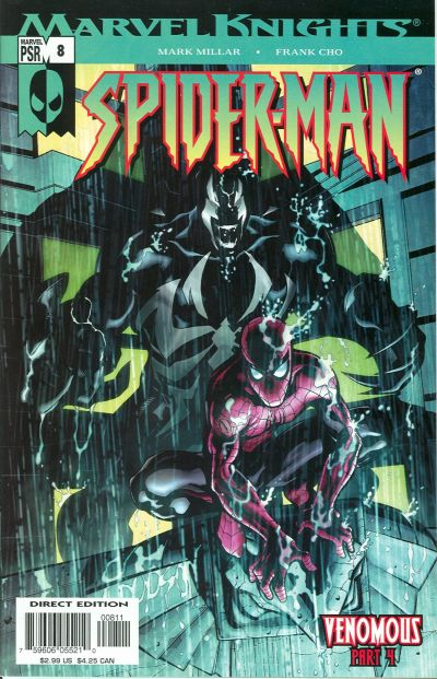 Cover for Marvel Knights Spider-Man (Marvel, 2004 series) #8