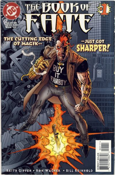 Cover for The Book of Fate (DC, 1997 series) #1