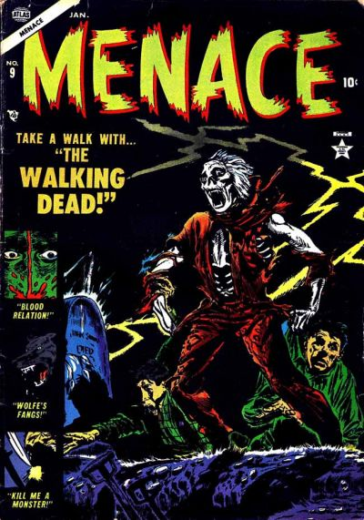 Cover for Menace (Marvel, 1953 series) #9