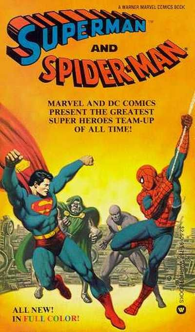 Cover for Superman and Spider-Man (Warner Books, 1981 series) #91757