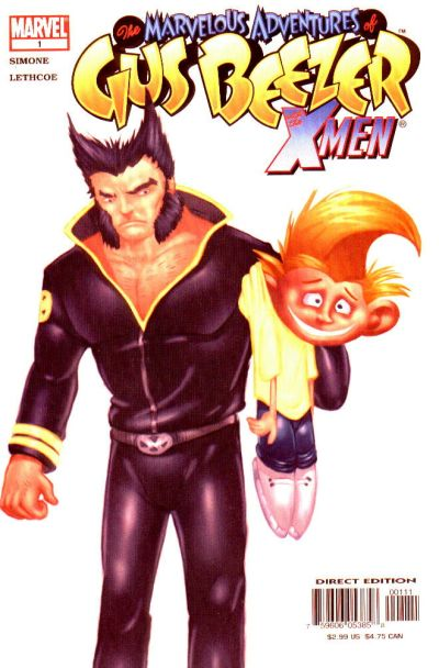 Cover for Marvelous Adventures of Gus Beezer: X-Men (Marvel, 2003 series) #1