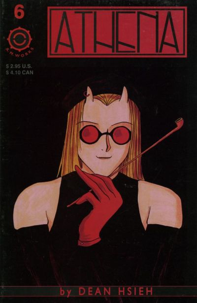 Cover for Athena (A.M.Works, 1995 series) #6