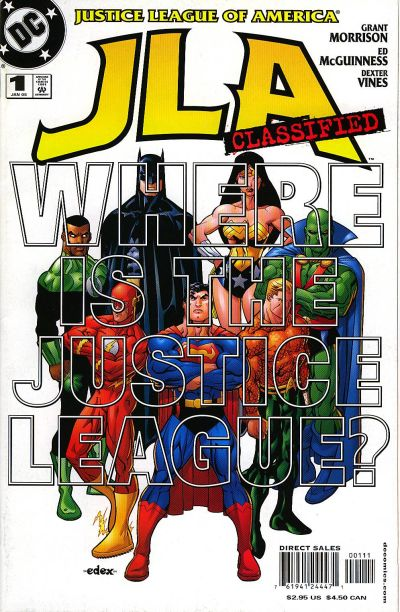 Cover for JLA: Classified (DC, 2005 series) #1 [Cover A]