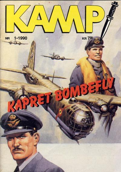 Cover for Kamp-serien (Serieforlaget / Se-Bladene / Stabenfeldt, 1964 series) #1/1990