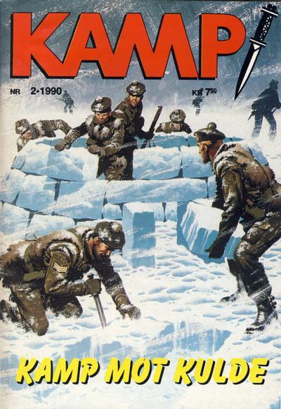 Cover for Kamp-serien (Serieforlaget / Se-Bladene / Stabenfeldt, 1964 series) #2/1990