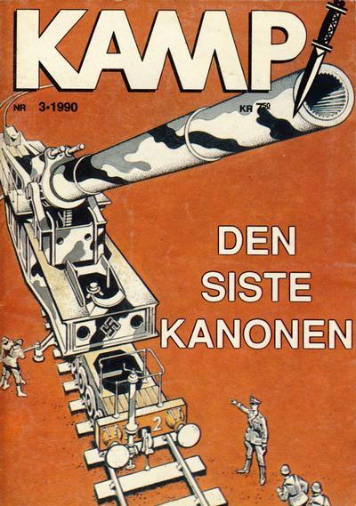 Cover for Kamp-serien (Serieforlaget / Se-Bladene / Stabenfeldt, 1964 series) #3/1990