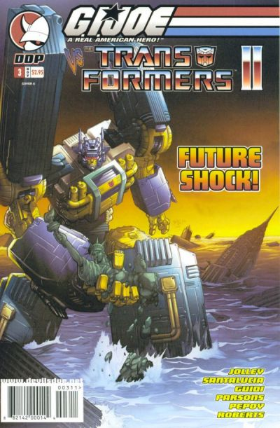 Cover for G.I. Joe vs. The Transformers Comic Book (Devil's Due Publishing, 2004 series) #3