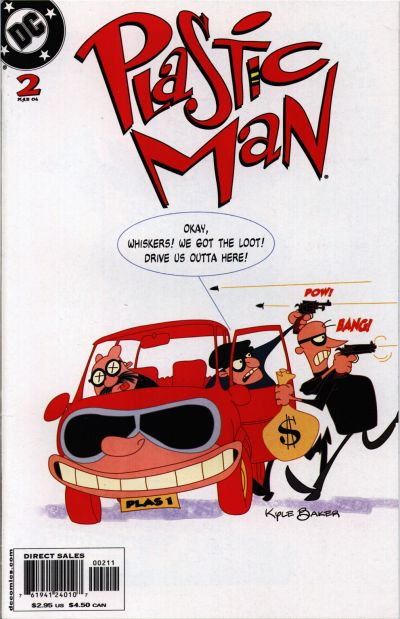 Cover for Plastic Man (DC, 2004 series) #2