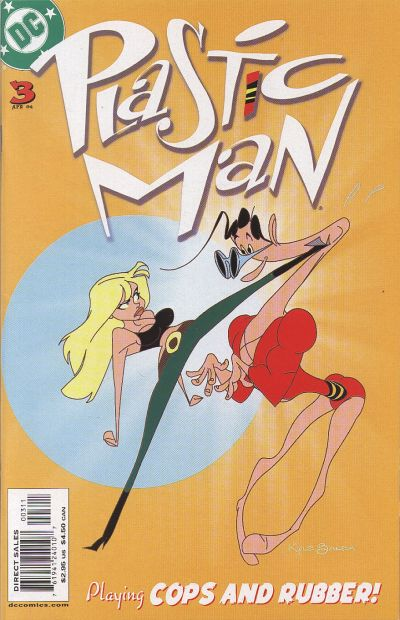 Cover for Plastic Man (DC, 2004 series) #3