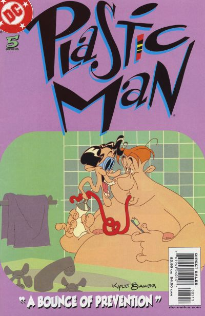Cover for Plastic Man (DC, 2004 series) #5
