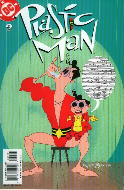 Cover for Plastic Man (DC, 2004 series) #9