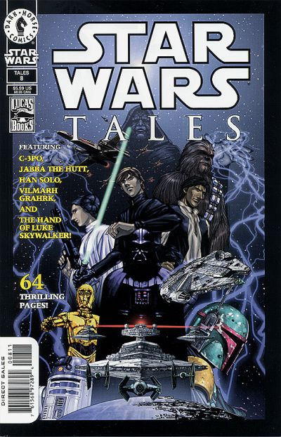 Cover for Star Wars Tales (Dark Horse, 1999 series) #8 [Cover A]