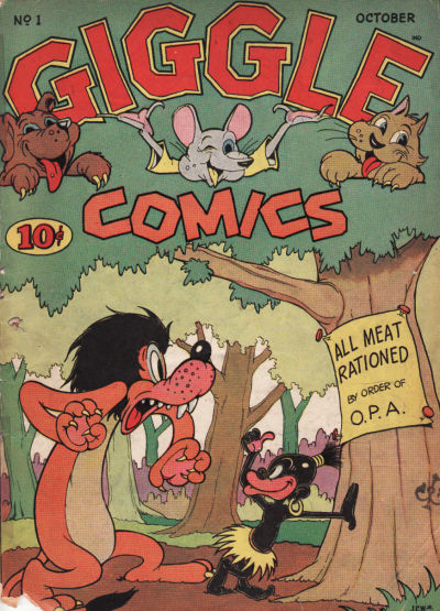 Cover for Giggle Comics (American Comics Group, 1943 series) #1