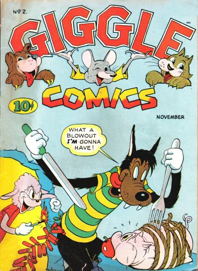 Cover for Giggle Comics (American Comics Group, 1943 series) #2