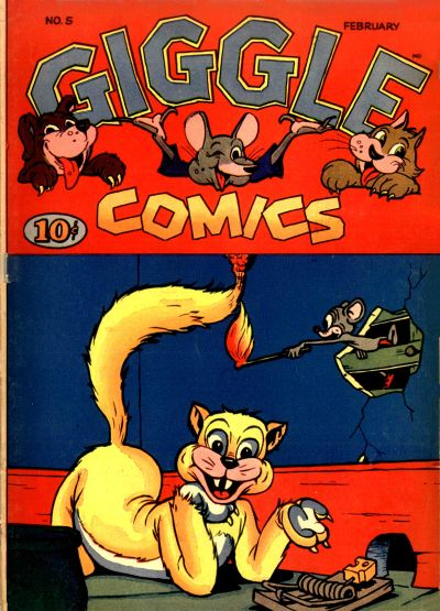 Cover for Giggle Comics (American Comics Group, 1943 series) #5