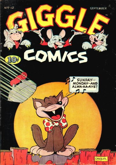Cover for Giggle Comics (American Comics Group, 1943 series) #12