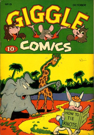 Cover for Giggle Comics (American Comics Group, 1943 series) #13