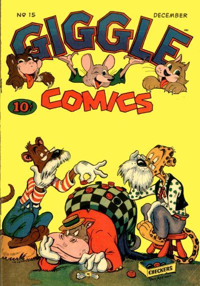Cover for Giggle Comics (American Comics Group, 1943 series) #15