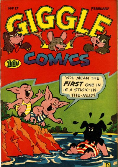 Cover for Giggle Comics (American Comics Group, 1943 series) #17