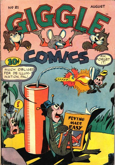 Cover for Giggle Comics (American Comics Group, 1943 series) #21