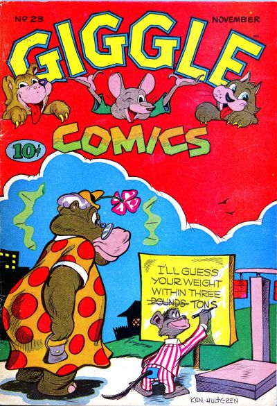 Cover for Giggle Comics (American Comics Group, 1943 series) #23