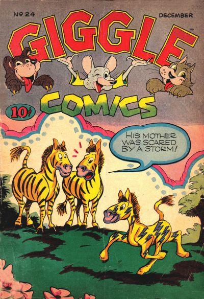 Cover for Giggle Comics (American Comics Group, 1943 series) #24